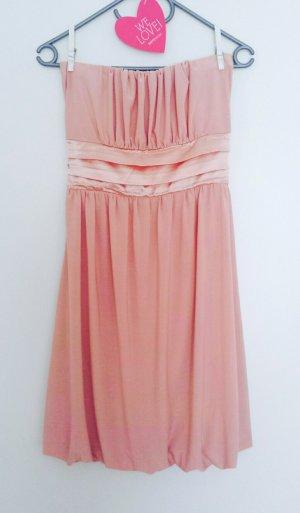 Schönes festliches Kleid Rose Blush mit Schleife *Hochzeit* in Größe M *Abschlussball*