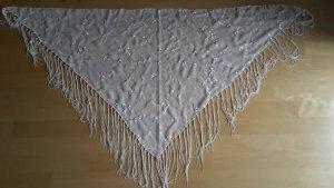 Zero Châle au tricot blanc cassé-beige clair