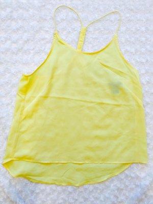 Schönes gelbes Blusen top