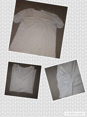 Camiseta azul oscuro-blanco