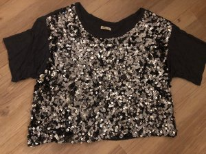 Abercrombie & Fitch Cropped shirt antraciet-donkergrijs