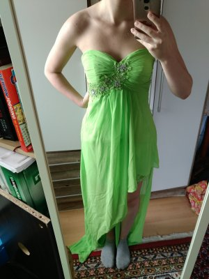Schönes grünes Ballkleid Gr. S Vokuhila