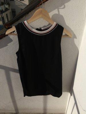 H&M Camisa larga negro