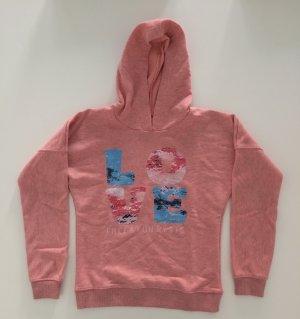 Schönes Hell Rosa kapuzensweatshirt von STACCATO in groß M. Kaum getragen!