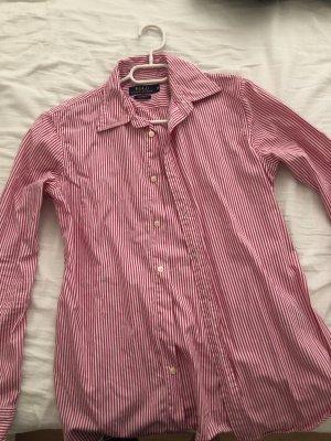 Lauren by Ralph Lauren Camisa de manga larga rosa-blanco