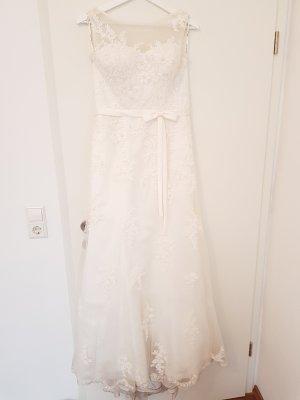 schönes Hochzeitskleid Brautkleid  Gr. 8 S 36 von Sencerity in ivory