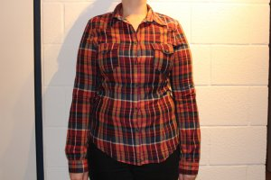 H&M L.O.G.G. Camisa de leñador multicolor Algodón