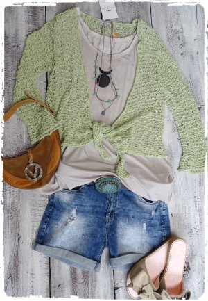 Wraparound Jacket lime-green
