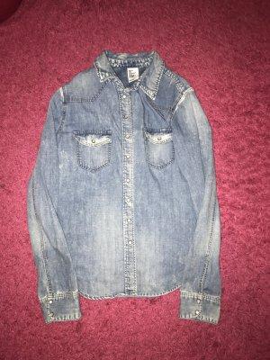 Schönes Jeans hemd