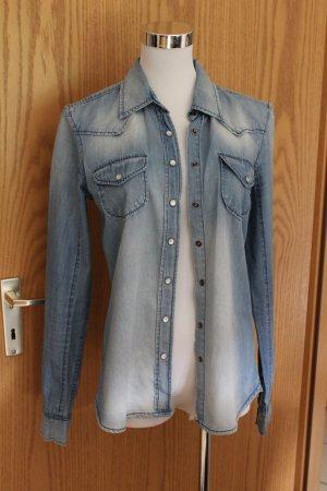 schönes Jeanshemd blau
