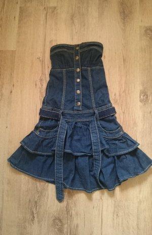Schönes Jeanskleid mit Etikett
