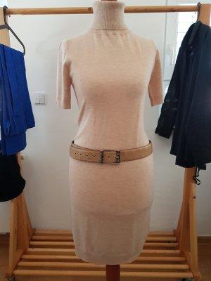 Vestito di lana beige chiaro Lana