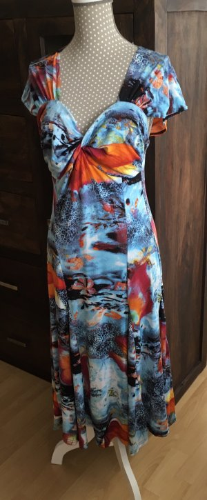 Bexleys Midi Dress multicolored