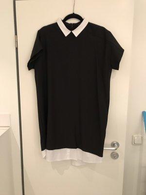 Zara Abito blusa nero-bianco