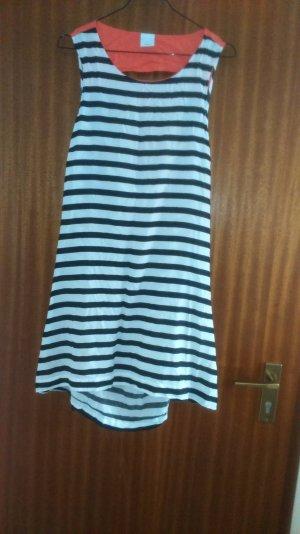 schönes Kleid gestreift M mit tollem Rückenausschnitt