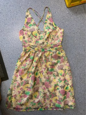 Vero Moda Chiffon jurk veelkleurig