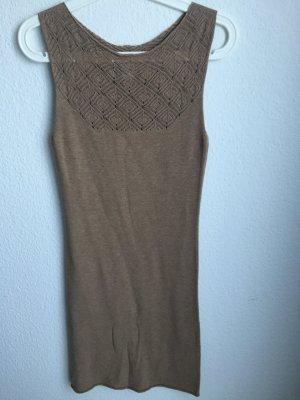 schönes Kleid im Wollkleid Look - gut für Winter und Übergangszeit