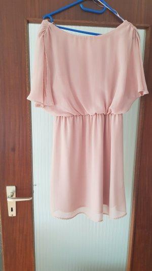 Atmosphere Vestido de tela de jersey rosa empolvado