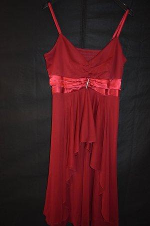 b.p.c. Bonprix Collection Robe de soirée rouge-rouge foncé