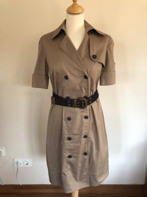 s.Oliver Abito blusa camicia marrone-grigio