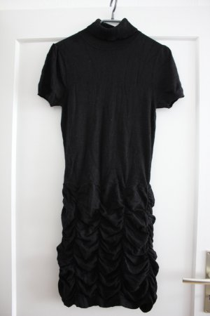 Orsay Sweater Dress black mixture fibre