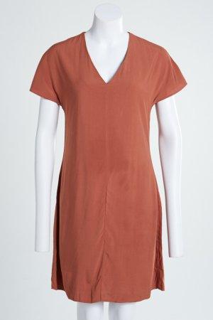 Schönes Kleid mit V-Ausschnitt 100% Viskose wie Neu