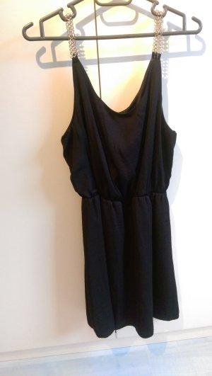 Schönes Kleid schwarz Gold Neu