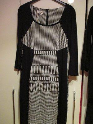 schönes Kleid schwarz-weiß
