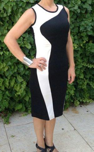 Schönes Kleid Schwarz/Weiß