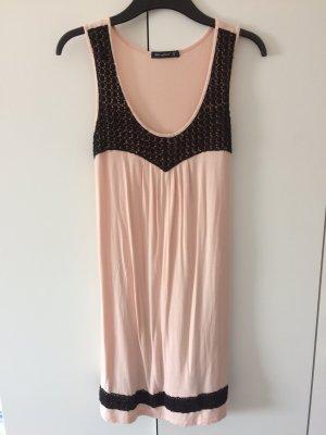 Schönes Kleid Sommerkleid altrosa Größe 36