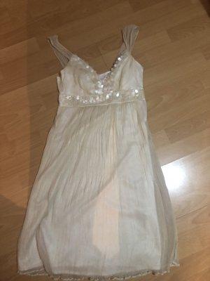 Ana Alcazar Evening Dress cream
