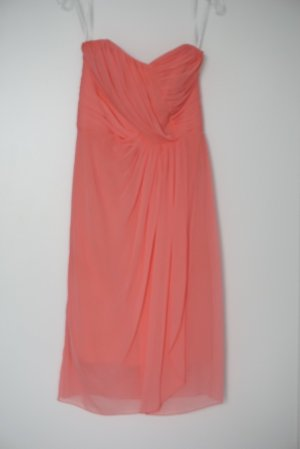 Dessy Collection Bandeaujurk roze