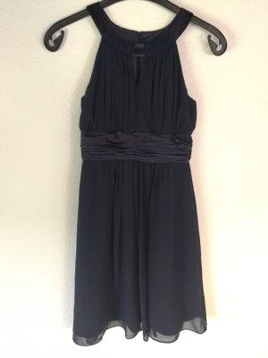 Schönes Kleid von Montego in dunkelblau