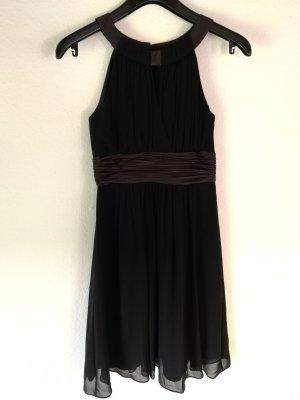 Schönes Kleid von Montego in schwarz/braun