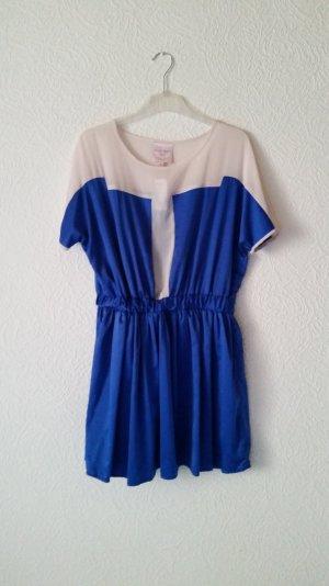 Juliet Cocktail Dress cream-blue