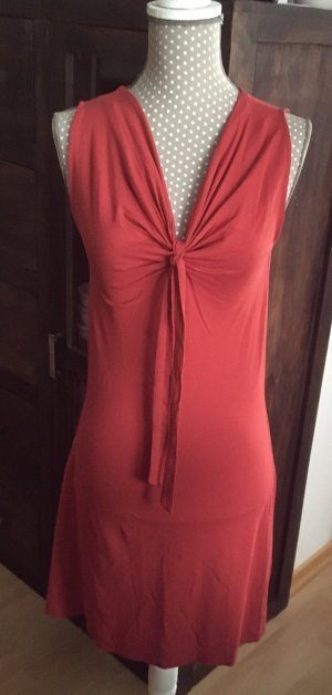 s.Oliver Robe stretch rouge