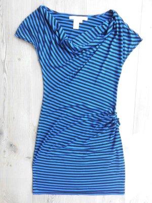 Schönes Kleid von Studio M Gr. M (S) schwarz-blau gestreift TOP