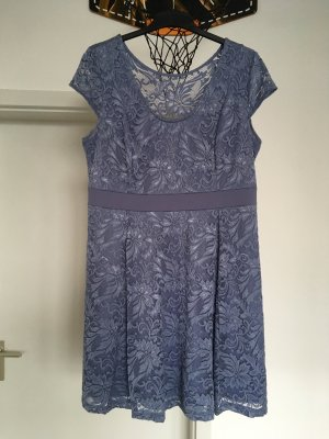 b.p.c. Bonprix Collection Gebreide jurk lichtblauw