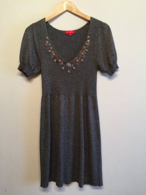 Derhy Babydoll Dress grey