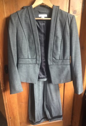 H&M Tailleur grigio-nero