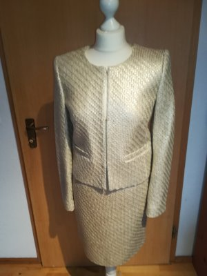 Hallhuber Ladies' Suit gold-colored