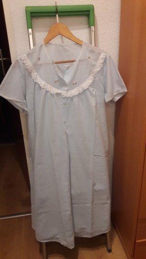 Pyjama baby blue-light blue cotton