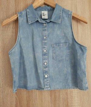 schönes kurzes jeans jäckchen