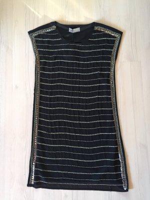 Schönes kurzes Kleid in schwarz mit Pailletten NEU mit Etikett