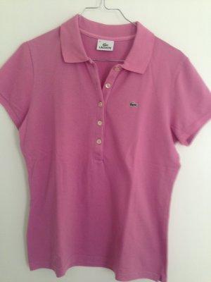 Schönes LACOSTE Poloshirt in Pink