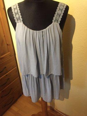 Made in Italy Camisa azul aciano