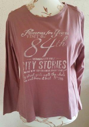 Camisa rosa empolvado
