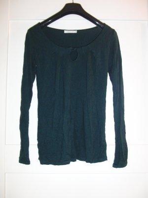 Schönes Langarmshirt von PROMOD - Gr. 34 - tannengrün