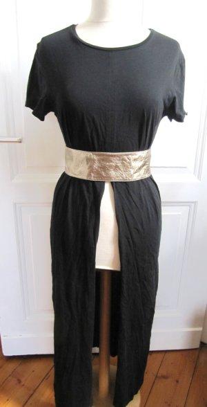 Schönes langes Edel Kleid von 10Days Amsterdam Schwarz Long Dress Gr. 2 M 38 40