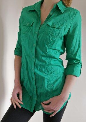 Street One Vestido camisero verde